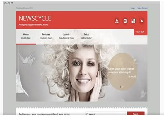 Free and Premium Collection of Beautiful Joomla Templates.