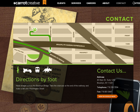 35 Inspiring Example of Contact Pages