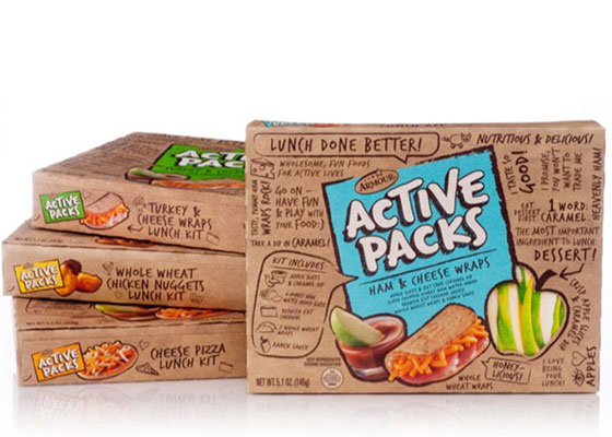 Active-Packs Fully Illustrated Package Designs