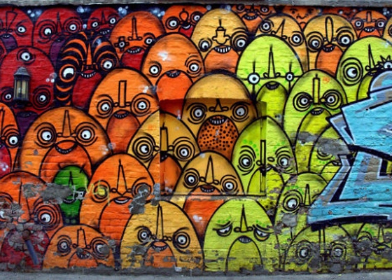 Beautiful Collection of Free Hand Graffiti Art