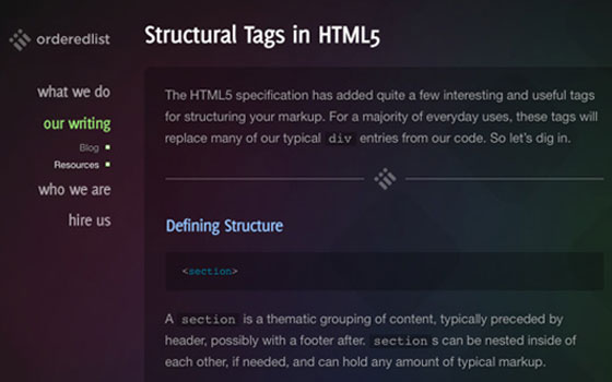 Most Useful HTML5 Tutorials