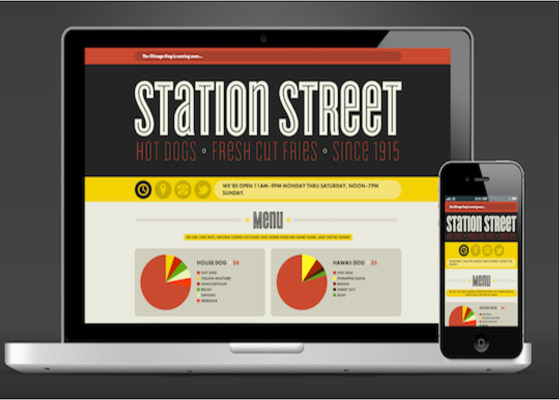 Station Street Responsive Website=