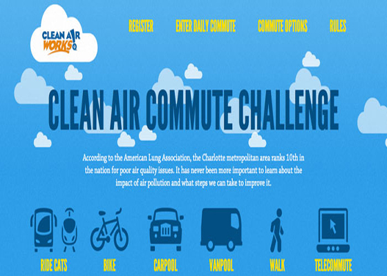 Clear Air Commute Travel Responsive Website =