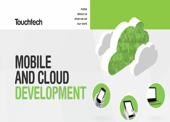 Mobile & Cloud Development Responsive Website =