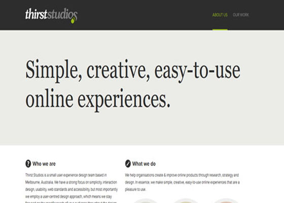 Online Experiences Responsive Website =