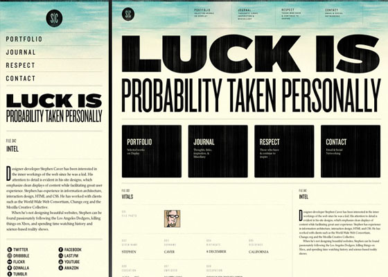 Luckis Responsive Website =