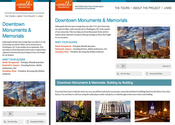 Down Town Monuments Responsive Website =
