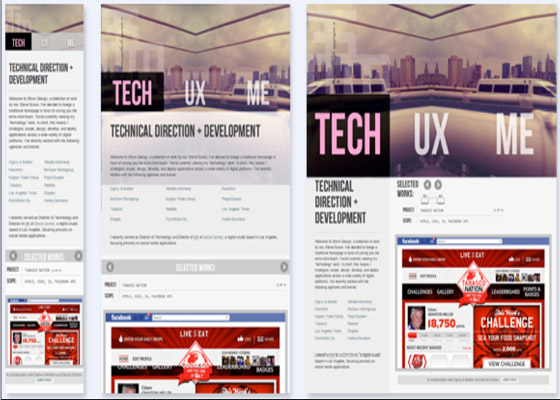 TEC UX Responsive Website =