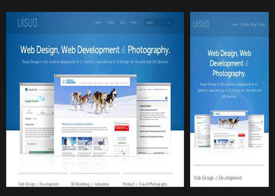 Web Design & Development Responsive=