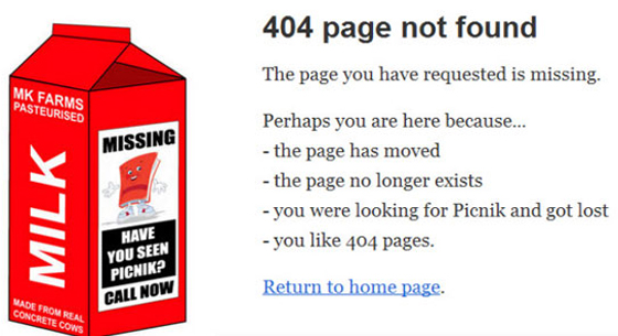 K-international 404 Error Page