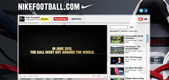 Nike YouTube Channel