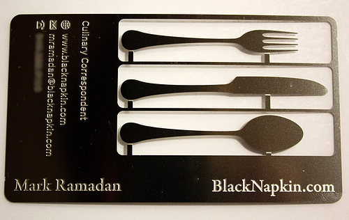 Fork Business Card for inspiration