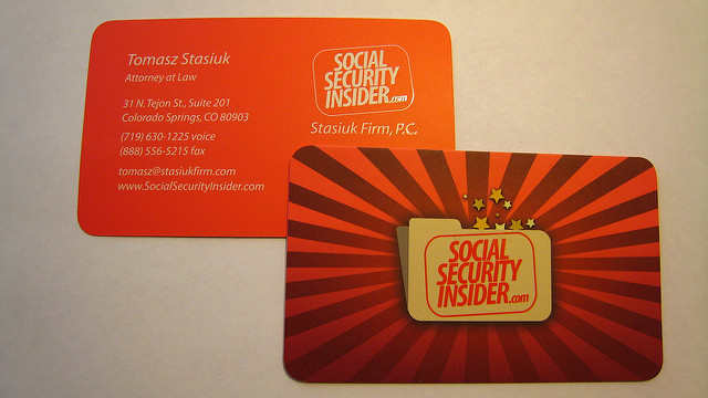 Security Insider Creative Business Card