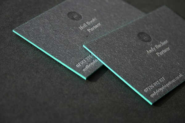 Grey Business Card for inspiration