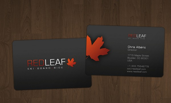 Metal Color Business Card for inspiration