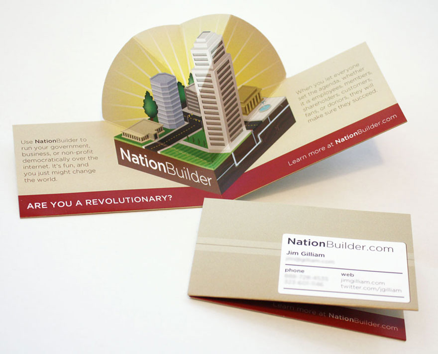 Builder Business Cards for Idea