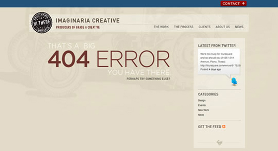 Christopher Meeks 404 Error Page