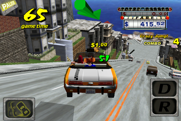 Crazy-Taxi 25+ Best iOS Games