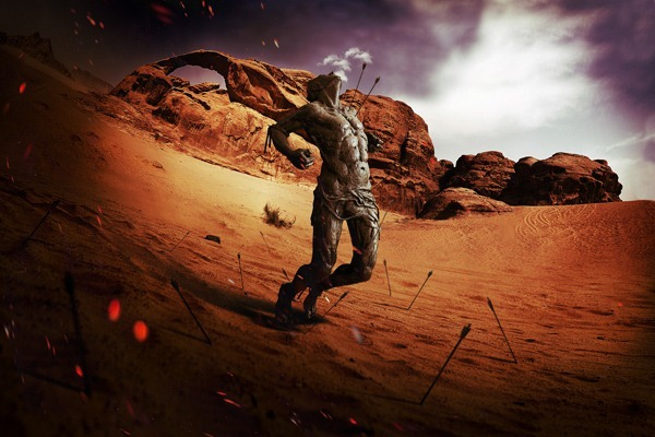 Dramatic-Fisheye 20+ Latest Photo Manipulation Tutorials