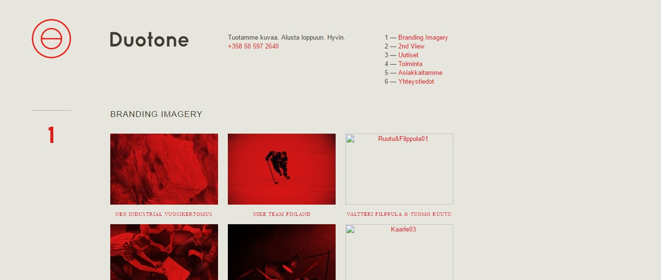 Duotone 30+ Excellent Portfolios and Design Agency Websites