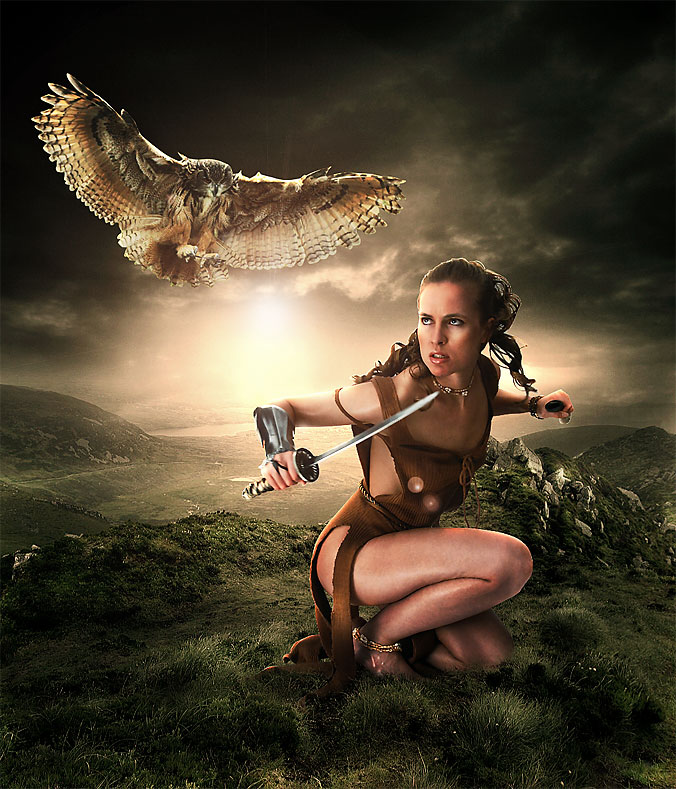 Eagle-Fighter 20+ Latest Photo Manipulation Tutorials