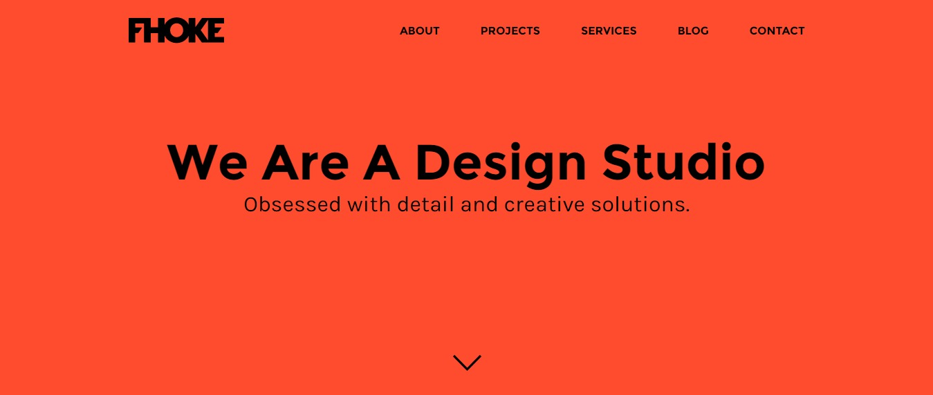 FHOKE 30+ Excellent Portfolios and Design Agency Websites