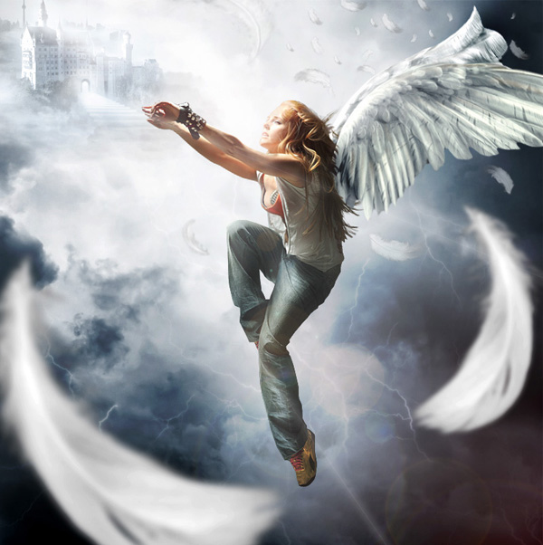 Falling-Angel 20+ Latest Photo Manipulation Tutorials