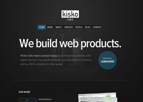 Kisko-Labs 30+ Excellent Portfolios and Design Agency Websites
