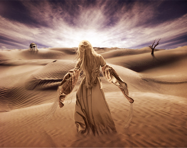 Surreal-Desert-Scene 20+ Latest Photo Manipulation Tutorials