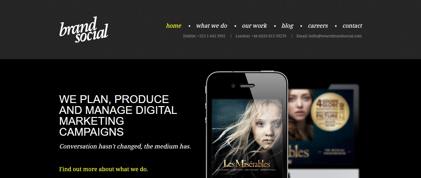 The-Creative-District 30+ Excellent Portfolios and Design Agency Websites