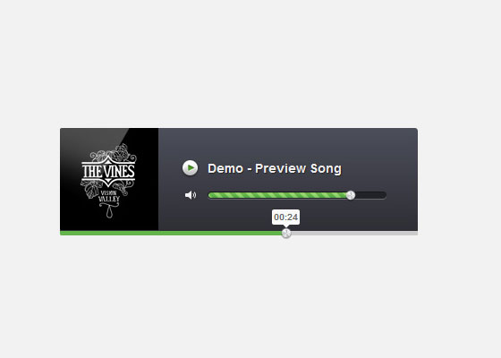 Create an Audio Player in HTML5