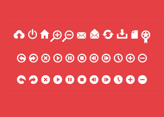 Symbols, Signs, Glyph And Simple Icon Sets For Your Design