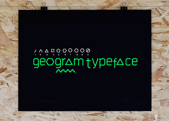 Geogram Awesome and Unique Free Fonts of 2012