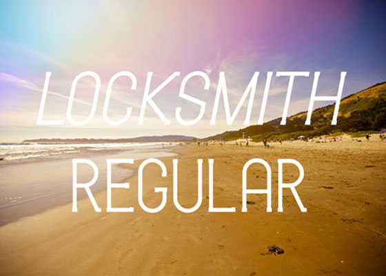 Locksmith Awesome and Unique Free Fonts of 2012