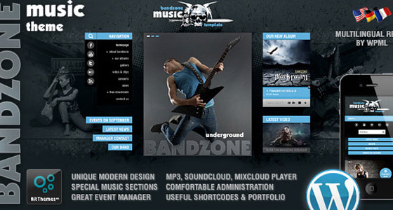 BandZone WP Theme
