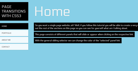 css3-page-transition 40+ Cool and Useful CSS3 Tutorials and Techniques