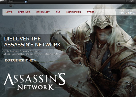 Assassin-Creed Great Game Websites For Your Inspiration