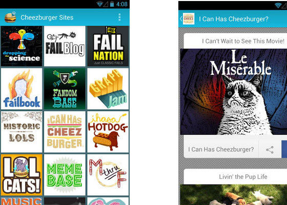 Cheezburger 30 Awesome Free Android Apps