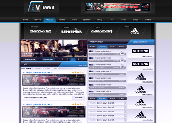Eweb-by-dcjutty Great Game Websites For Your Inspiration