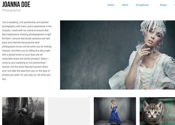 Hatch 25 Free Minimal Responsive WordPress Themes