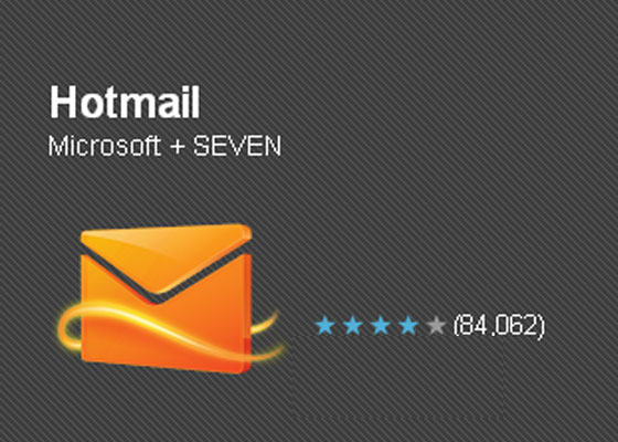 Hotmail 30 Awesome Free Android Apps