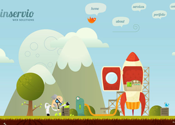 Inservio 25 Awesome Examples of Illustration in Web Design