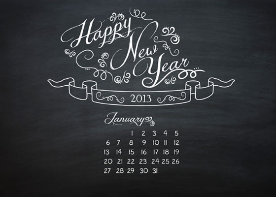 January 2013 Free Computer Backgrounds