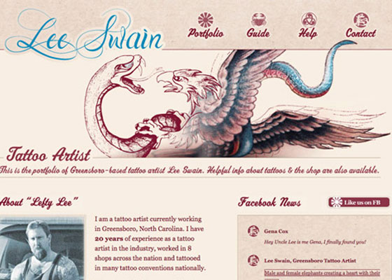 Lee-Swain 25 Awesome Examples of Illustration in Web Design