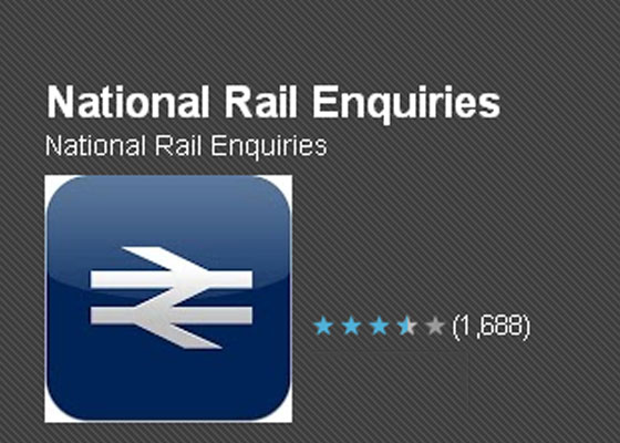 National-Rail-Enquiries 30 Awesome Free Android Apps