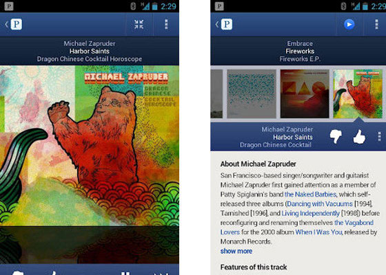Pandora-Internet-Radio 30 Awesome Free Android Apps