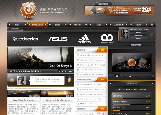 Sale-Gaming-AndasoloARTS Great Game Websites For Your Inspiration