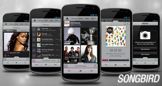 Songbird 30 Awesome Free Android Apps