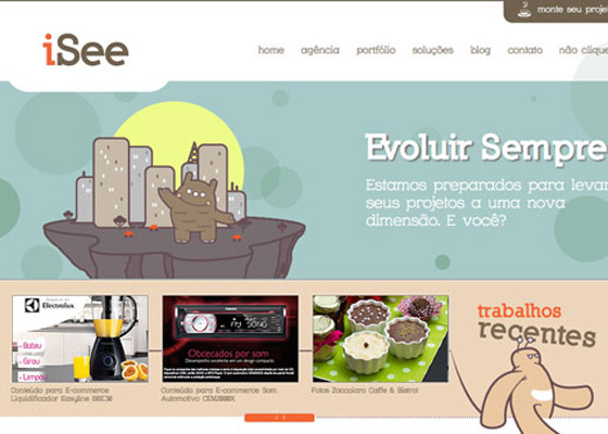 iSee 25 Awesome Examples of Illustration in Web Design