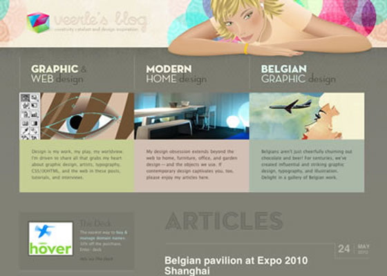 veerle-blog 25 Awesome Examples of Illustration in Web Design